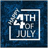 Vector illustration. background American independence day of July 4. Happy 4th of July.  Designs for posters, backgrounds, cards,. Banners, stickers, etc. EPS Royalty Free Stock Image