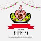 Happy Epiphany. Stock Photo