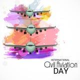 International Civil Aviation Day. Royalty Free Stock Image