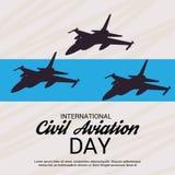 International Civil Aviation Day. Stock Photography