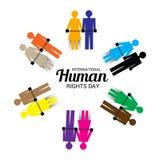 International Human Rights Day. Stock Photos