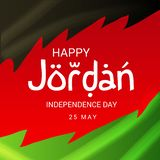 Jordan Independence Day. stock images