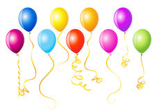 Vector illustration of balloons Royalty Free Stock Images