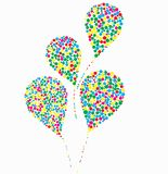 Vector illustration of balloons Royalty Free Stock Image