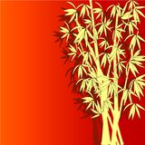 vector illustration of bamboo Stock Photography
