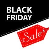 Vector illustration. Banner Black Friday sales Royalty Free Stock Image