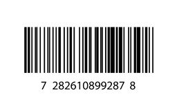 Illustration of barcode icon Stock Photography
