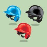 Vector illustration. Baseball helmet. Stock Photography