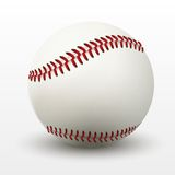 Vector illustration of baseball leather ball Royalty Free Stock Photos