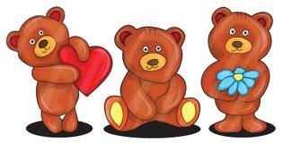 Vector illustration of bears Stock Photo
