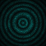 Vector Illustration of Beautiful Abstract  Hypnotic Background Royalty Free Stock Image
