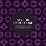 Vector illustration. Beautiful background Monogram Royalty Free Stock Image