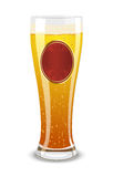 Vector illustration of a beer  Royalty Free Stock Photography