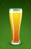 Vector illustration of a beer glass Royalty Free Stock Image