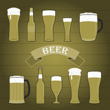 Vector illustration of beer Royalty Free Stock Images
