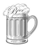 Vector illustration of  beer Royalty Free Stock Photo
