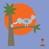 Bird Feeding Money Stock Images