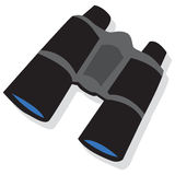 Black binoculars Royalty Free Stock Photos