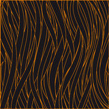 Vector illustration black-and-orange pattern Royalty Free Stock Images