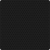 Vector illustration of a black perforated metal. Texture perforation on dark material. Vector perforated background Stock Photo