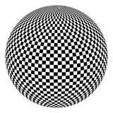 Black and white ball Royalty Free Stock Photo