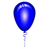 Blue balloon Royalty Free Stock Photos