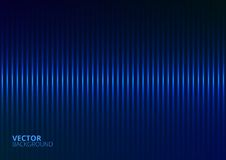 Vector Illustration of a Blue Music Equalizer Stock Images