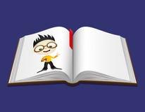 Vector illustration. Book. Stock Photos