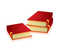 Vector illustration of books Royalty Free Stock Image