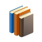 Vector illustration of books Stock Photos