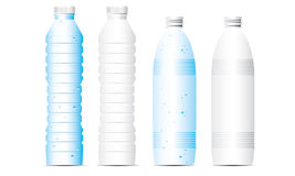 Vector illustration bottle of water Royalty Free Stock Images