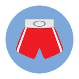 Vector illustration Boxing shorts  Royalty Free Stock Photography
