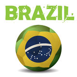 Vector Illustration Brazil Royalty Free Stock Photo