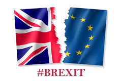 Vector illustration of Brexit symbol Royalty Free Stock Photography