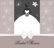 Vector illustration of bride Royalty Free Stock Image