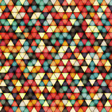 Vector illustration of bright shiny triangle background vector illustration
