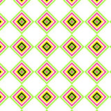 Vector illustration of colorful geometric pattern. Vector illustration of brightly colored geometric pattern, with rhombus shapes Royalty Free Stock Image