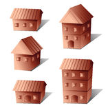 Vector illustration of bronze property on board game Stock Photo