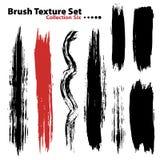 Vector illustration brush set 6