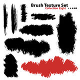 Vector illustration brush set 8 Royalty Free Stock Photography