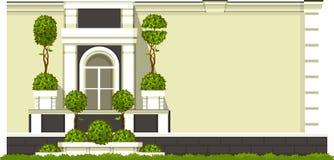 Gardening of balconies Stock Image