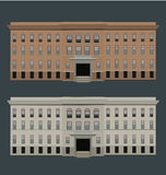 Vector illustration of buildings Royalty Free Stock Photos