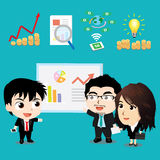 Vector illustration - Business Character Design Set Stock Images
