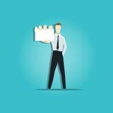 Vector illustration of businessman Stock Image