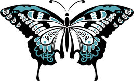 Vector illustration - butterfly Stock Image