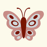Vector Illustration of butterfly Royalty Free Stock Image
