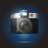 Vector illustration of camera Stock Image