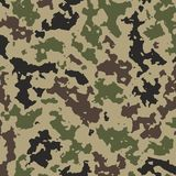Camouflage background for military clothes royalty free illustration