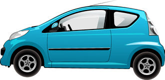 Vector illustration of car Stock Image