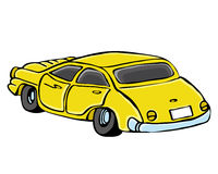 Vector illustration. Car Royalty Free Stock Photos